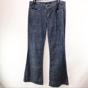 Joes Jeans Wide Leg Bootcut Blue Jeans 32
